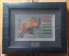 Hellboy Framed Character Key - 111/500 - Sideshow Collectibles Very Rare