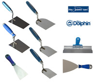 Spachtel Putzspachtel Fassadenkit Putzkelle Gipskelle Trapez-Kelle Blue Dolphin