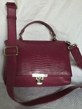 JIGSAW Leather Cross Body/Shoulder Bag / Handbag