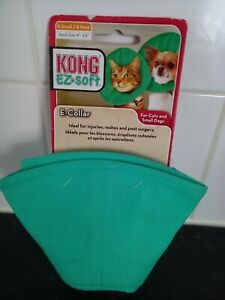 """KONG Ez Soft Recovery E Collar Small Dog or Cat - XS Extra Small 4""""-5.5"""" - NEW"""