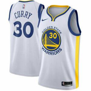 Stephen Curry Golden State Warriors Swingman Icon Jersey nba white