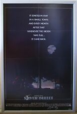 SILVER BULLET (1985) SIGNED by STEPHEN KING Original Movie Poster, Lycanthropy
