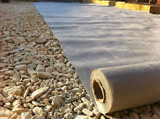 Geotextile Membrane Underlay Permeable Fabric 1x10m Driveway Permeable Fabric