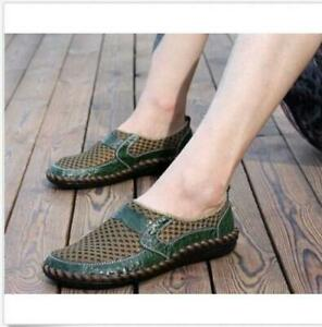 New Mens Fashion Casual Driving Slip on Loafers Moccasin Breathable Shoes