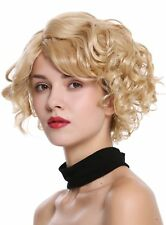 WIG ME UP Damenperücke Perücke kurz gewellt wilde Welle sexy Blond Mix Gesträhnt