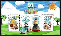 Australia 2016 50 Years of Play School Minisheet Stamps MNH