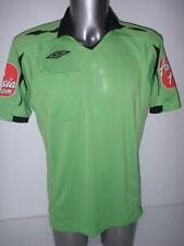 Árbitro Jersey Verde Camiseta De Fútbol M BNWOT Fútbol Umbro Premier EFL