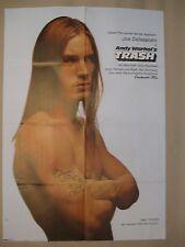 ANDY WARHOL'S TRASH - Filmplakat Poster Plakat 1968 Paul Morrissey A1