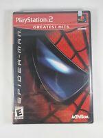 Spider-Man 1st Print (PlayStation 2, PS2 2002) FACTORY SEALED! Rare Black Label