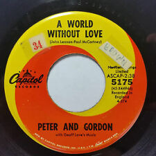"PETER AND GORDON A World Without Love b/w If I Were You 5175 7"" 45rpm Vinyl VG++"