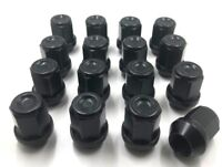 16 x ALLOY WHEEL NUTS BLACK FORD FOCUS MK1 1998-05 ST170 M12 X 1.5 19MM BOLTS [3