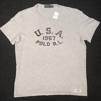 New Ralph Lauren Polo RL U.S.A. 1967 Graphic T Shirt Custom Fit XL