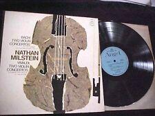 Bach, Vivaldi Concertos Nathan Milstein Emi  Angel 36O1O Mono NM