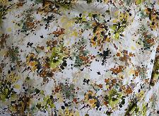 Baumwolle Stretch  - italienische Strettchbaumwolle mit Blumenmuster