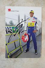 "Felipe Nasr ""Sauber 2015"" Autogramm signed 10x15 cm Postkarte"