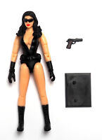 "Annika Action Figure 3.75"" Baroness Custom Female GI JOE Star Wars 1:18 Scale"