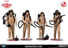 Mcfarlane Stranger Things Ghostbusters 4 Pack Action Figures Gamestop Exclusive