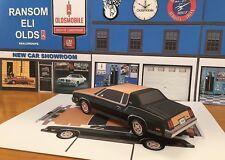 """PAPERCRAFT"" 1979 Oldsmobile Cutlass Hurst Olds W-30 Paper Model Car EZU-make"