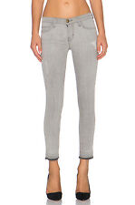 CURRENT ELLIOTT THE STILETTO SKINNY JEANS $208 24 Gray DILLON RELEASED HEM Fray