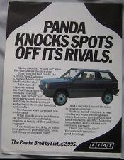 1984 Fiat Panda Original advert