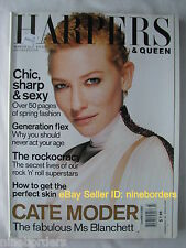 CATE BLANCHETT, RONNIE WOOD, STING, KATE MOSS Mar 2001 Harpers & Queen (UK) XLNT