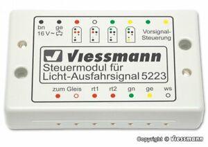 Viessmann 5223 Control Modules For Licht-Ausfahrsignale Super Condition