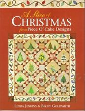 A Slice of Christmas Piece O' Cake Designs Quilt Book Jenkins & Goldsmith OOP