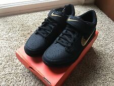 Nike Gyrizo Clipless Shoes for BMX and Mountain Biking MTB size 12 Black Gold