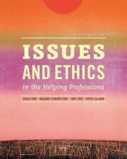 Issues and Ethics in the Helping Professions (Book Only) 9th Ninth Edition