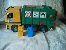 Camion poubelle Bruder MB Actros Mercedes Garbage Truck 4143 Furth Germany 2009