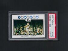 2008 Topps MICKEY MANTLE #7 HOF Yankees PSA 10 GEM MINT Centered