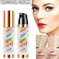 40ml Face Base Foundation Three-color Oil Control Makeup S5Q2 Pore Primer T2V9