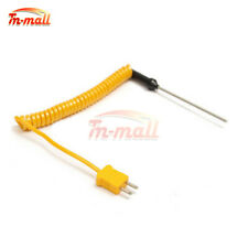 100mm K-Type Thermocouple Probe Sensors Stainless Steel Temperature Controller