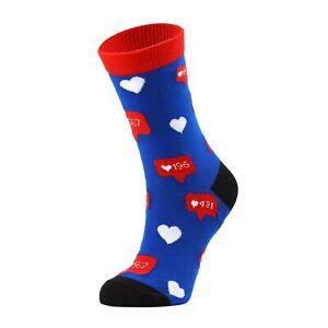 Women Social Media Like Socks Gift Socks Novelty Socks Funny Socks