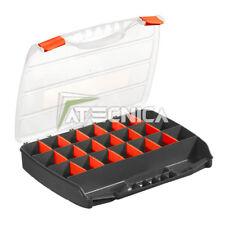 Organizer valigetta porta minuteria con divisori Fervi C312 in plastica 320x260