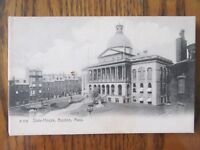 Vintage Postcard State House Boston Mass Capital Building