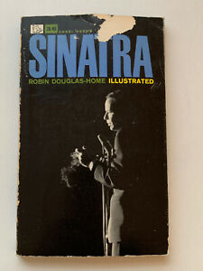 **FRANK SINATRA BY ROBIN DOUGLAS-HOWE ILLUSTRATED UK BOOK 1962**