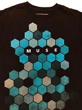 MUSE Concert The Resistance Black T Shirt Sz. M