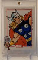 STAN LEE'S THOR MARVEL 70 YEARS SKETCHAFEX SKETCH AUTOGRAPH AUTO ART CARD 1/1