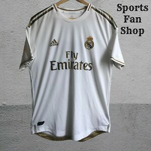 AUTHENTIC Real Madrid 2019/2020 home Size L Adidas shirt jersey soccer football