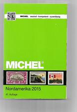 MICHEL Briefmarken Katalog 2015 Nordamerika Neuwertig