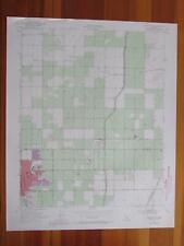 Delano East California 1971 Original Vintage Usgs Topo Map