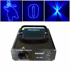 500MW Blue Animation DMX ILDA Laser light Stage lighting Club DJ Home Party Show