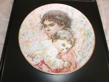 Royal Doulton 1976 Ltd Ed Collector's Plate #4 Edna Hibel Marilyn And Child