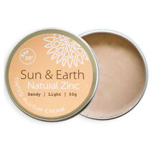Sun & Earth Natural Zinc Tinted All Day Cream - Available in 3 Shades