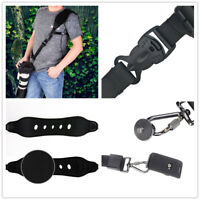 High Quality Camera Shoulder Neck Strap for Canon Nikon Sony DSLR Camera Black