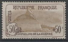 """FRANCE STAMP TIMBRE 153 """" ORPHELINS 50c+50c LION BELFORT"""" NEUF xx TB A VOIR N625"""