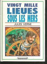 Vingt mille lieues sous les mers.Jules VERNE.Tournesol cartonné  CV36