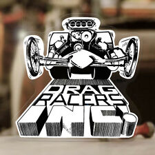 Dragracers Ed Roth sticker decal hot rod rat ed roth drag racing dragster 3.5""