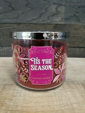 BATH & BODY WORKS * Tis the Season * 3 WICK CANDLE NEW 14.5oz (158)